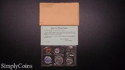 1959 Proof Set ~ Original Envelope With COA ~ US Mint Silver Coin Lot SKU-400