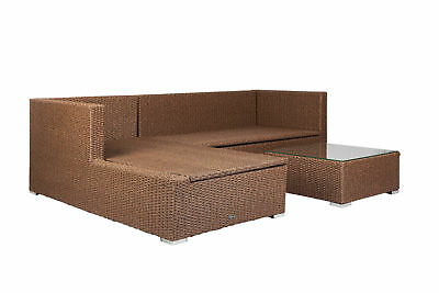 PatioSense Tristano Sectional with Cushions
