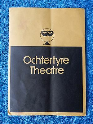 The Heiress - Ochtertyre Theatre Playbill w/Autograph (Kathryn Crosby) - 1976