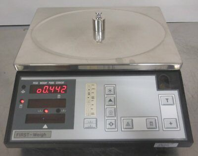 R120287 First Weigh Model 12 70-C1 Tare Counting Scale