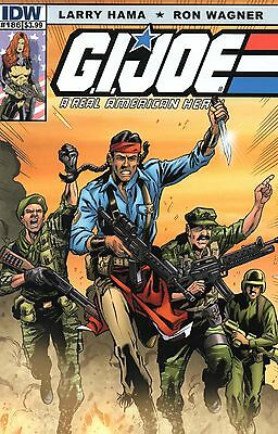 G.I.Joe A Real American Hero Comic 186 IDW 2013 Larry Hama Ron Wagner