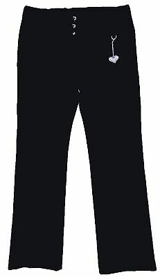 Girls Black School Trousers Made for Store Sizes from 3-4y up to 13-14y