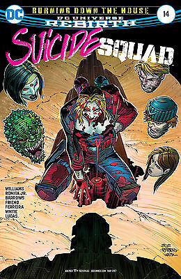 SUICIDE SQUAD #14, New, First Print, DC REBIRTH (NS3)