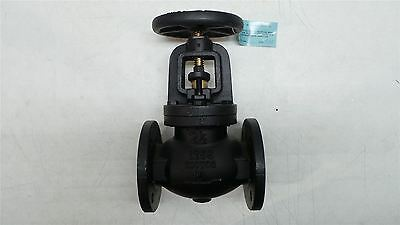 "Milwaukee Valve 2981-M 2-1/2"" 2-1/2 In Pipe 125 Max PSI Cast Iron Globe Valve"
