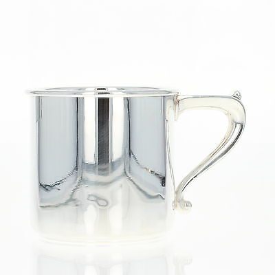"Durgin Silver Mug - Sterling Silver 53 Cup w/ Handle 3"" Engravable Hollowware"