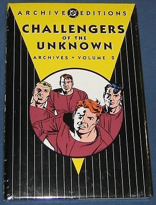 Challengers Of The Unknown Volume #2  DC Archives Still Sealed Original Wrap NM