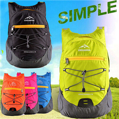 Lightweight Folding Compact Travel Camping Waterpoof Backpack Dry Bag Rucksack