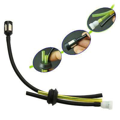 Universal Strimmer Trimmer Lawn Mower Brush Cutter Fuel Hose Pipe & Tank Filter