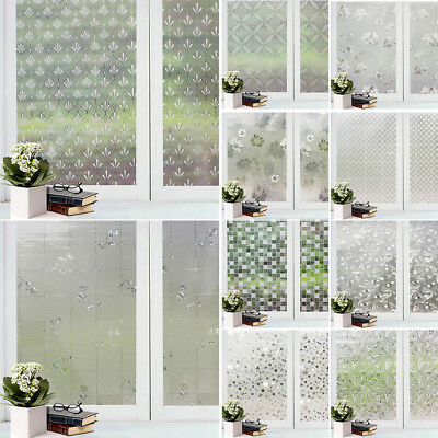 Decor Privacy Frosted Window Glass Film Sticker Home Bathroom Waterproof Goodish