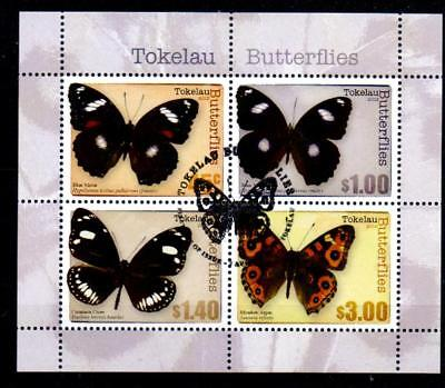 Tokelau Islands Sgms457 2013 Butterflies M/s Used