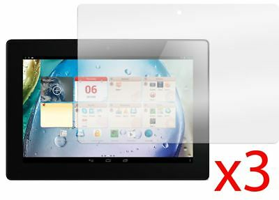 "Hellfire Trading 3x Lenovo IdeaTab S6000 10.1"" LCD Screen Protector Cover Guard"