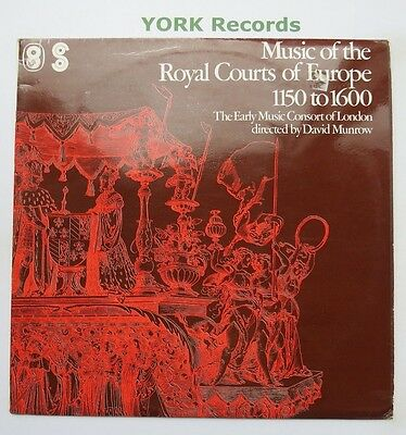 ST 1108 - MUSIC OF THE ROYAL COURTS OF EUROPE 1150TO 1600 - Ex Con LP Record