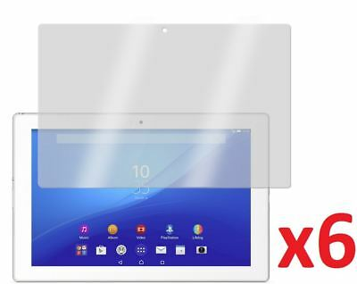 """Hellfire Trading 6x Screen Protector Cover Guard for Sony Xperia Z4 Tablet 10.1"""""""