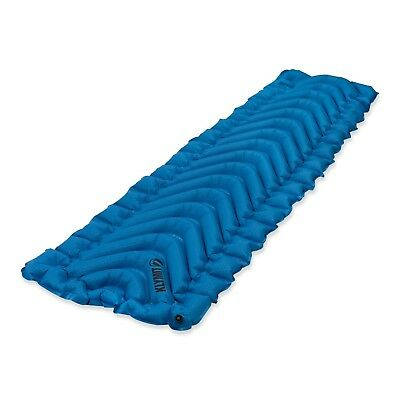 Klymit Static V Ultralite SL Compact Inflatable Camping Sleeping Bag Pad, Blue