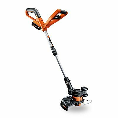 """Worx WG155 10"""" 20V Li-Ion Cordless String Trimmer & Edger with Battery & Charger"""
