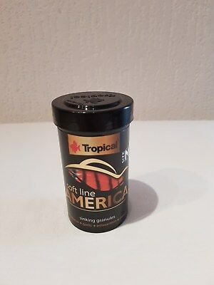 Tropical soft line America Size M - Cichlidenfutter Softgranulat 100ml