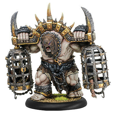 Hordes Grymkin Cage Rager Heavy Warbeast PIP76009 - Used Cheap Oversea Ship!
