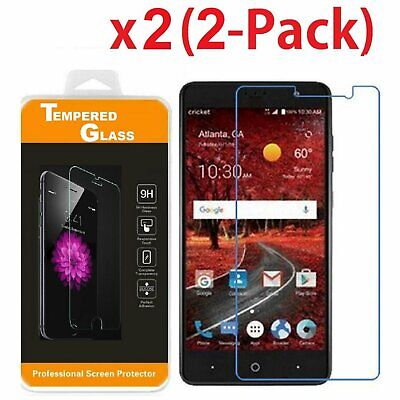 2-PACK Tempered Glass Screen Protector for ZTE Blade Spark Z971 (2017) AT&T