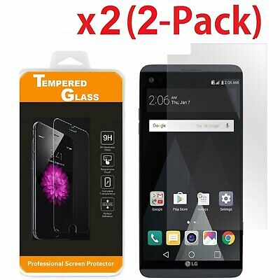 2-Pack Premium TEMPERED GLASS Film Screen Protector For LG V20