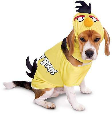 LARGE Brand New Dog Angry Birds Yellow Bird Dog Costume Outfit SZ L