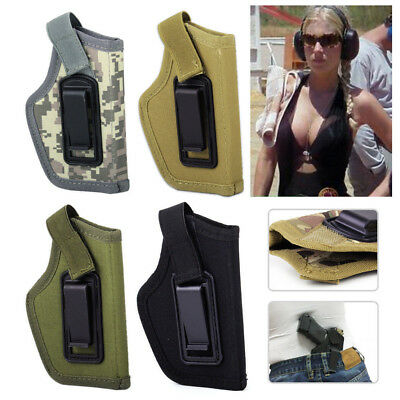 Concealed Belt Ambidextrous IWB Holster for Compact Subcompact Pistols New