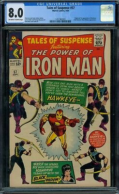 Tales of Suspense 57 CGC 8.0 - OW/W Pages