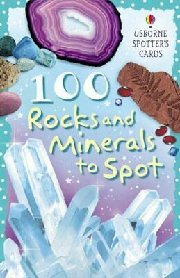 100 Rocks and Minerals to Spot (Usborne Spotter's Ca... by Clarke, Phillip Cards