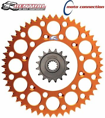 Renthal Ultralight Sprocket Kit Rear 49T Front 13T Ktm Sx125  Sx250 2006
