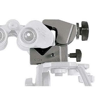 Manfrotto 035BN Binocular Super Clamp, Holds up to 33 lbs.