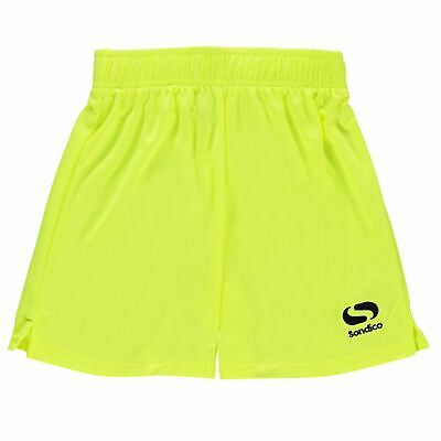 Sondico Kids Grass Roots Football Shorts Junior Pants Trousers Bottoms