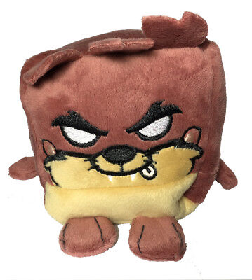 "Kawaii Cubes Series 1 Medium 4"" Plush - Looney Tunes Tasmanian Devil NEW"