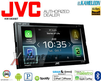 JVC KW-V830BT El Kameleon Car Stereo with Apple CarPlay and Android Auto