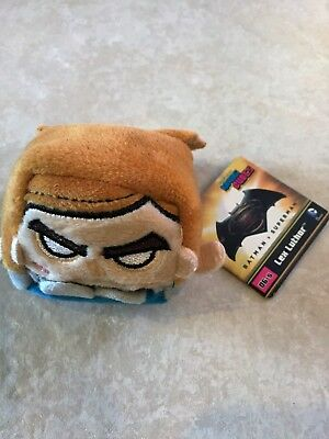 "Kawaii Cubes Series 1 Mini 2.5"" Plush - Batman vs Superman - lex luthor NEW"