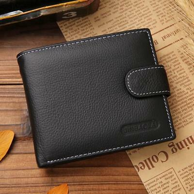 Mens Soft Quality PU Leather Wallet Credit Card Holder Purse New CB