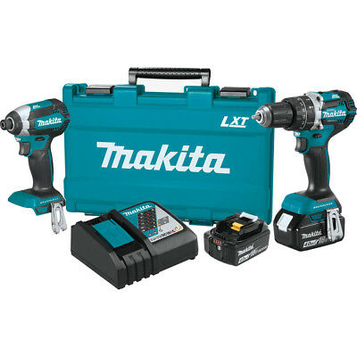 Makita XT269MR 18V LXT Li-Ion Brushless 2-Piece Combo Kit (4.0 Ah) Reconditioned