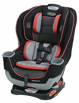 Graco Baby Extend2Fit Convertible Car Seat Infant Child Safety Solar NEW