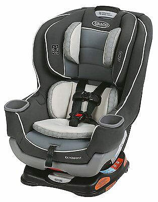 Graco Baby Extend2Fit Convertible Car Seat Infant Child Safety Davis NEW