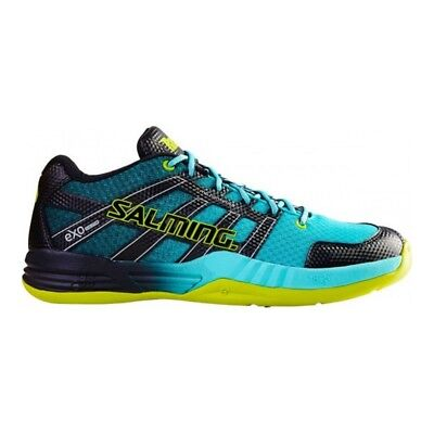 Salming Mens Race X Indoor Court Shoes - NEW 2017 Squash Badminton Trainers