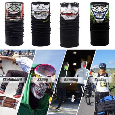 Rocking Cycling Motorcycle Neck Warmer Tube Scarf Face Mask Balaclava Headband