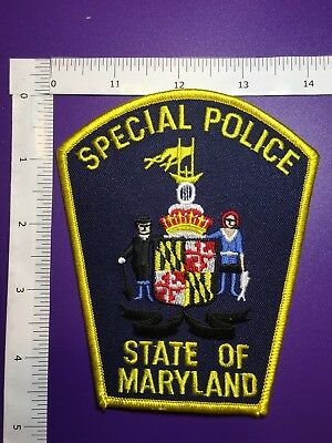 State Of Maryland Special Police  Shoulder Patch