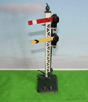 Hornby Series O Gauge Electric Double Arm Signal