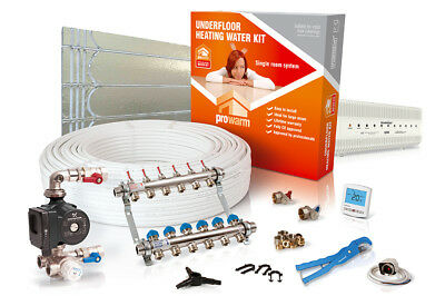 ProWarm low profile multi room water underfloor heating kit - all sizes