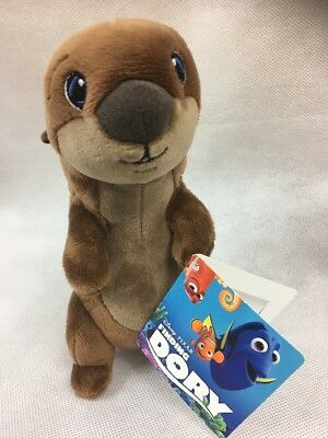 Disney Store Otter Baby Finding Dory Mini Soft Toy Plush animal UK STOCK AC