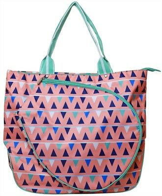 All For Color Tennis Tote Bag - Sand Castles