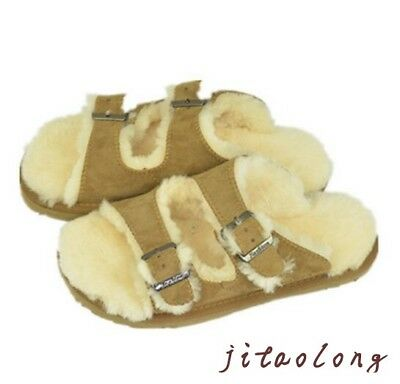 Womens Winter House Slippers Furry Indoor Soft Warm Girl Lady Comfy Shoes S M L