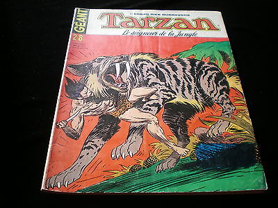 Tarzan géant 28 grand format sagédition 1976