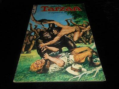 Tarzan géant 32 grand format sagédition 1977