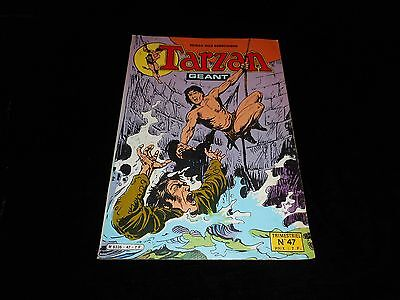Tarzan géant 47 grand format sagédition 1981