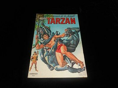Vedettes TV : Tarzan 7 Sagédition octobre 1968