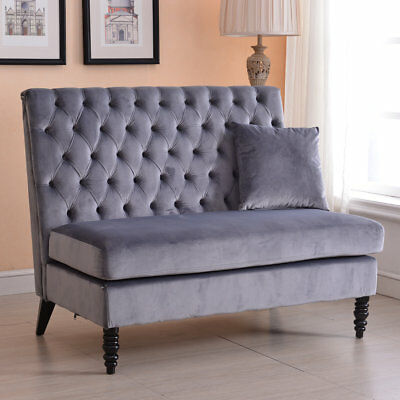 Darby Home Co Ellayne Tufted High Back Loveseat High Back Loveseat40